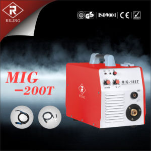 Soldador do MIG do inversor com Ce (MIG-160T/180T/200T)