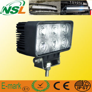 18W DEL Truck Work Light 12V 24V Tractor Working tous terrains Light