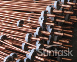 Heat pipe zonneboiler systeem