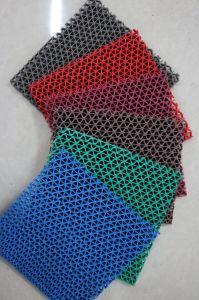 Couvre-tapis en forme de s de Skidproof d'étage de PVC (3G-707A)