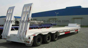 150ton drie Lijn Zes Aanhangwagen van het Bed van Assen de Lage