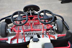 L'étirage de 2 portées vont Kartings avec de doubles volants que piloter vont Karts pour des adultes