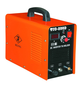 soldador do pulso do inversor TIG/MMA da C.C. 200AMP (TIG-200D)