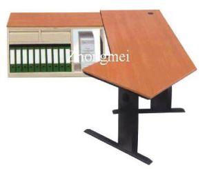 Bureau avec le dessus en bois (ZM090310-1)