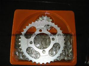 Kit de chaîne et de pignon pour la moto