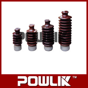 Porcelana Line Post Insulator para High Voltage Line (57-1/57-2/57-3/57-4/57-5/57-6)