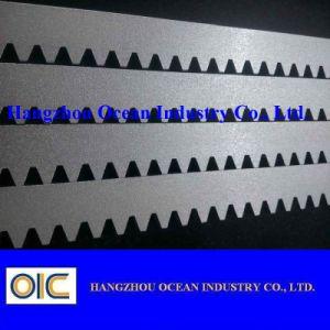 Crémaillère en acier galvanisée blanche de commande numérique par ordinateur
