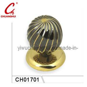 円形の簡単で容易な使用鋼鉄亜鉛合金のドア・ノブロックのハンドル(CH01701)