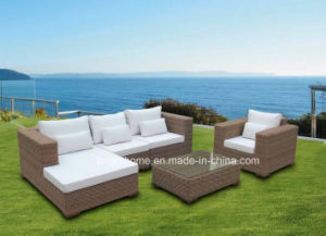 Meubles ext rieurs de jardin de rotin en osier moderne de for Arredamento made in china