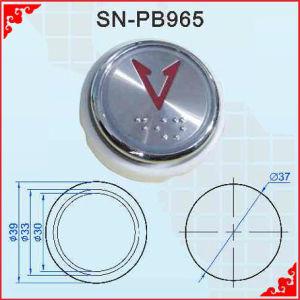 Höhenruder Button mit Blindenschrift (SN-PB965)