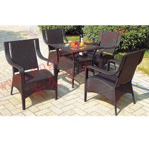 Ocio al aire libre de la rota patio mesa de comedor juego for Sillas para patio
