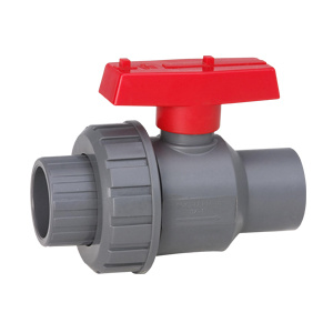 UPVC choisissent le robinet à tournant sphérique des syndicats