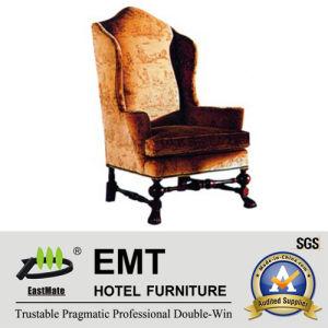 Chaise durable luxueuse de sofa d'hôtel (EMT-HC15)