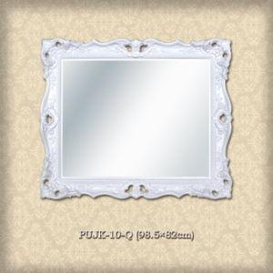 Omlijsting voor spiegel