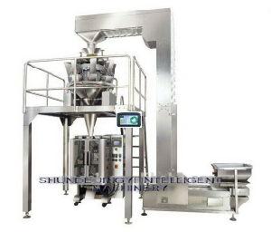Alimento soffiato automatico che pesa la catena di imballaggio
