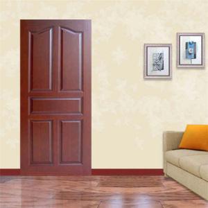 Porte int rieure en bois de ritz porte de placage portes for Porte pour chambre en bois