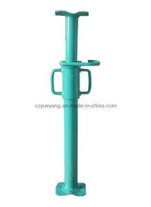Suporte ajustável do suporte do aço do sistema do andaime da sustentação com linha do interior