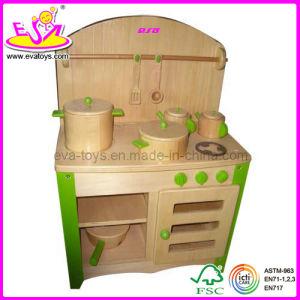 de madera de cocina de juguete de madera wj