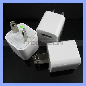Quadratisch wir berechnen EU-Au 5V 1000mA Wechselstromusb-Wand-Aufladeeinheit für iPhone Samsung