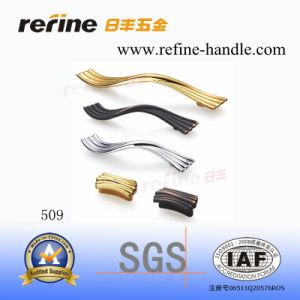 Poignée en alliage de zinc de traction de matériel de meubles (Z-509)