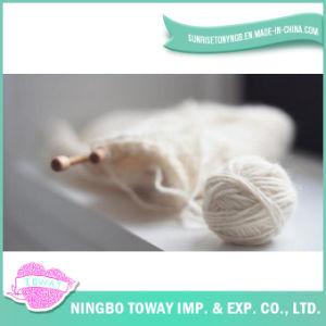 Das luvas transversais de lãs da linha do ponto do algodão fio para confeção de malhas 100%