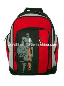 Saco Backpack-15 da trouxa do lazer da escola do esporte de Poyester