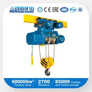 Alzamiento de cuerda eléctrico de alambre de la sola velocidad