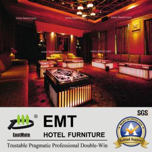 Sofa luxueux du sofa KTV de boîte de nuit réglé (EMT-KTV01)