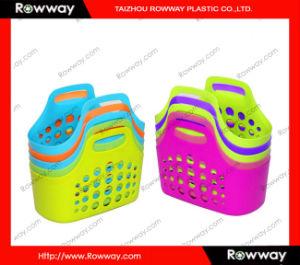 洗濯物入れ、プラスチック買物かご 洗濯物入れ、プラスチック買物かご – 洗濯物入れ、プラスチック