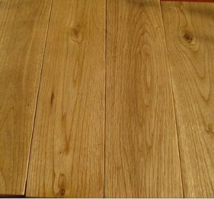 Piso de madera dura s lido del roble del color natural for Color roble natural