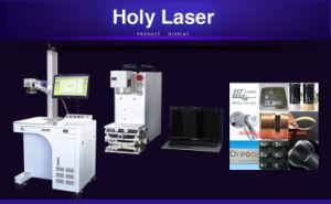 Machine d'inscription de laser de fibre d'acier inoxydable, machine d'inscription de commande numérique par ordinateur