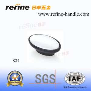 Meubles Hardware Knob dans Ceramic et Zinc Alloy (M-834)