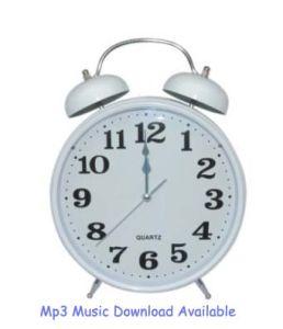 Horloge d'alarme MP3 (MP3-80C)