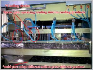 Vácuo automático dá forma à máquina