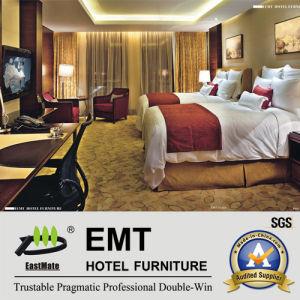 Jumeau-Lit de trame en bois de meubles d'hôtel de mode réglé (EMT-B1205)