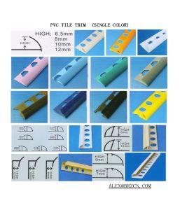 Assiette de tuile de PVC de brise de qualité