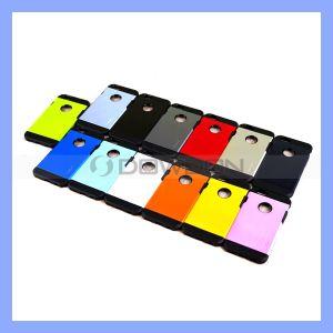 2 in 1 Color Armor Cover für iPhone 6 Aluminium Alloy TPU Fall