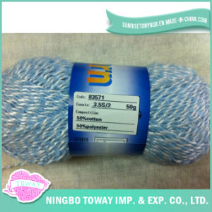 100% de fios de algodão respirável Cross Stitch linha de lãs de confecção de malhas
