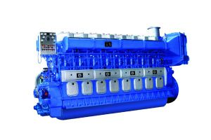 Двигатель дизеля Marine запуска в воздухе Avespeed Gn320 735kw-3089kw Medium Speed Compressed