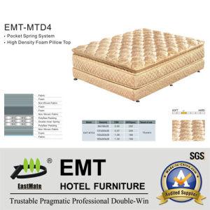Matelas de chambre à coucher d'hôtel de qualité (EMT-MTD4)