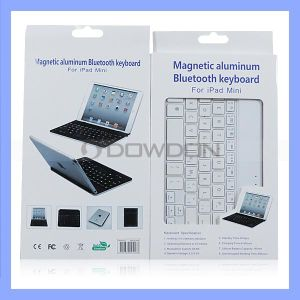 Magnetisches Aluminum Bluetooth Keyboard für iPad Mini (Keyboard-01)