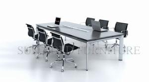 현대 디자인 직사각형 회의장 나무로 되는 중역 회의실 테이블 ...