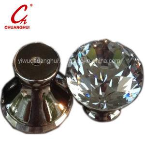 美しい輝いたクリスタルグラスのドア・ノブのハンドル(CH2090)
