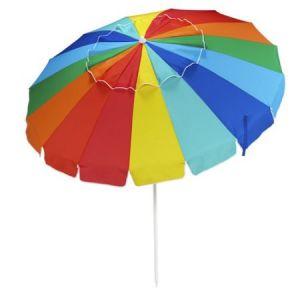 parapluie de plage prot geant du vent de parasol de l 39 arc en ciel uv50 parapluie de plage. Black Bedroom Furniture Sets. Home Design Ideas