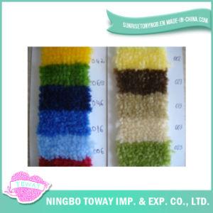 Personalizado Grosso Chenille Acrílico Fios Tapete de lã para Rug