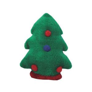 Hundespielzeug, Plüsch-Kauen-Weihnachtsbaum-Spielzeug, Haustier-Spielzeug