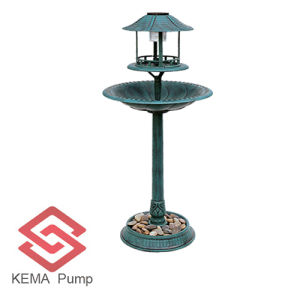Lampの太陽Resin Birdbath/Resin Bird Feeder