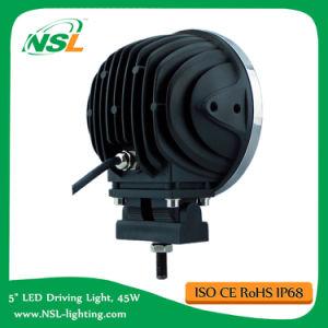 Lumière fonctionnante automobile du CREE 45W DEL 5 pouces pour fonctionner de véhicules