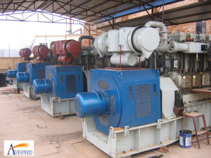 500kw каменноугольный газ Generator Set для электростанции (500GFW)