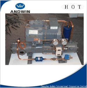 Unit di condensazione del compressore di pistone di - Condizionatore unita esterna piccola ...